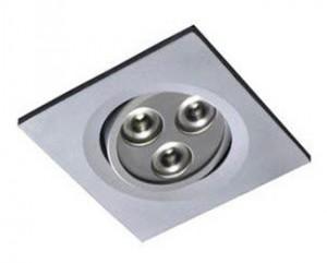 Lamaparas o Foco aluminio con LED 8W de 700
