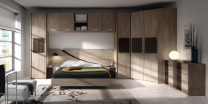Muebles dormitorio puente MOTTE CRACK
