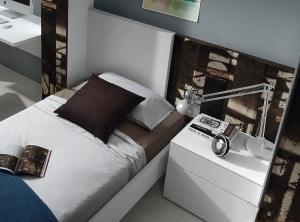 Muebles doritorio sonno single detalle