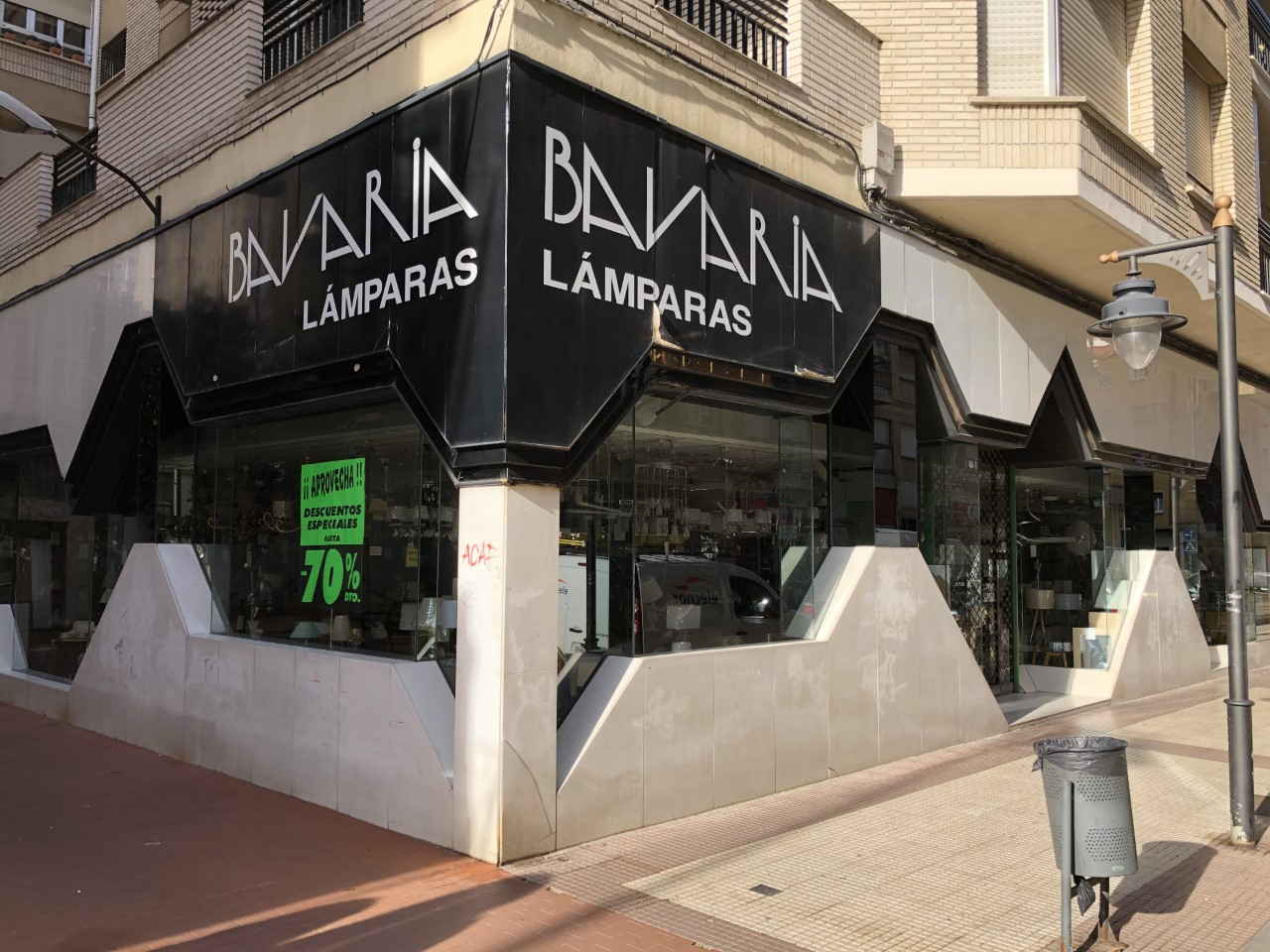 Iluminacion, hogar y mueble Bavaria Marquez de la Ensenada en logroño La Rioja
